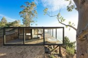 Eco Friendly Coastal House Invisible From A Distance