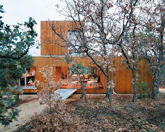 Eco Friendly Forest House With Eclectic Interiors