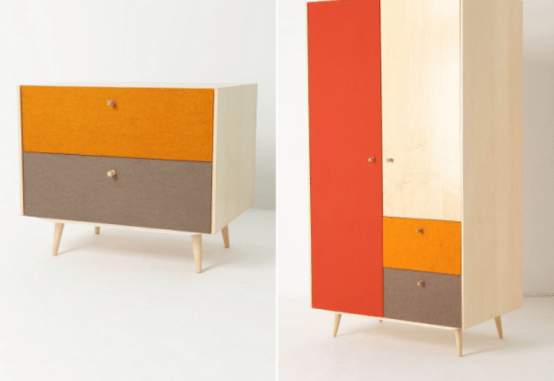 Eco Friendly Furniture With A Mid Century Touch