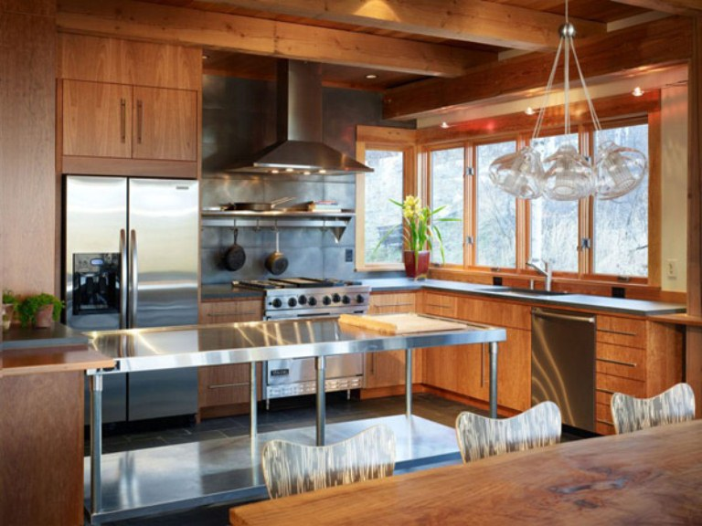 Eco Friendly Modern Rustic Residence In Colorado