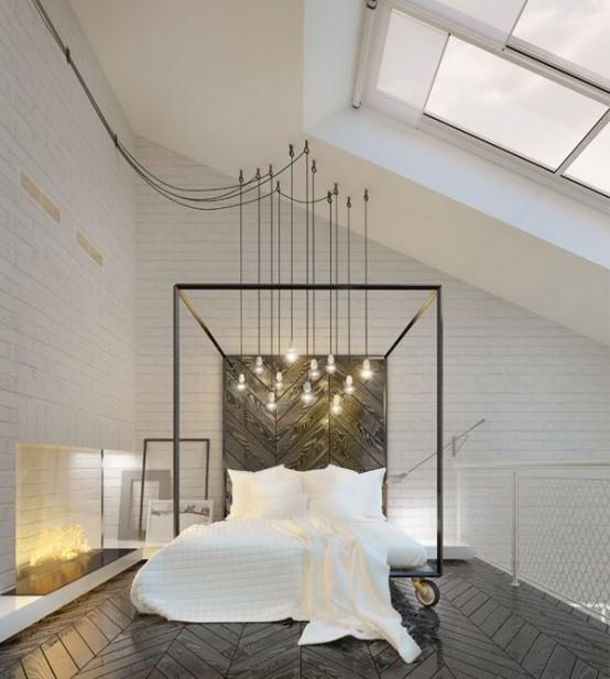 Decorating Tall Bedroom Walls
