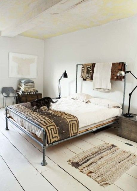 Popolare Making A Statement In Your Bedroom: 25 Edgy Industrial Beds - DigsDigs RR75