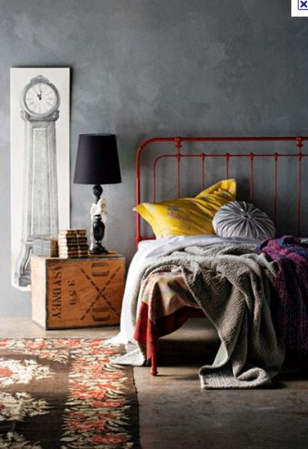 bedroom 25 edgy industrial beds interior decorating and home design