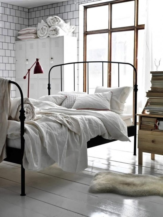 Lovely Edgy Industrial Beds