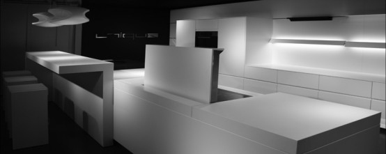 Futuristic Kitchen Design by Eggersmann