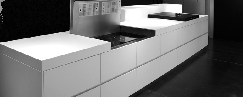 futuristic kitchen design by eggersmann digsdigs. Black Bedroom Furniture Sets. Home Design Ideas