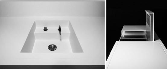 Futuristic Kitchen Design by Eggersmann