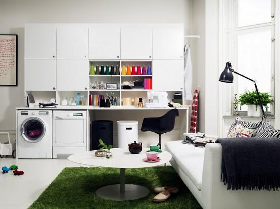 Electrolux Premium laundry room