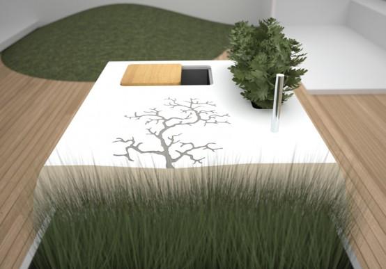 Electrolux Modern Outdoor Kitchen