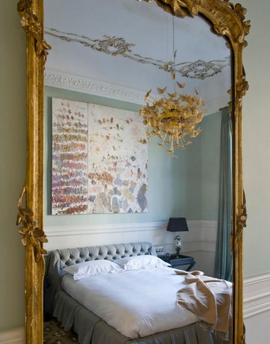 Elegant And Peaceful Feminine Bedroom Design