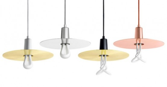 Elegant And Simple Drop Hat Shade For Plumen Bulbs