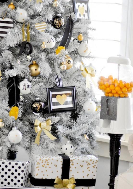 36 Super Elegant Black And Gold Christmas D 233 Cor Ideas