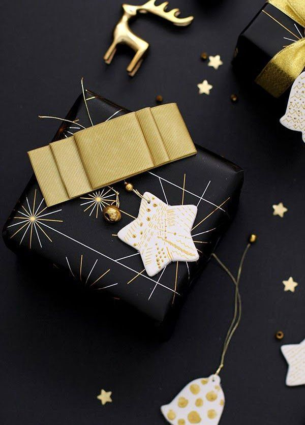 36 super elegant black and gold christmas d u00e9cor ideas