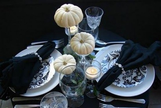 26 Elegant Black And White Thanksgiving D 233 Cor Ideas Digsdigs