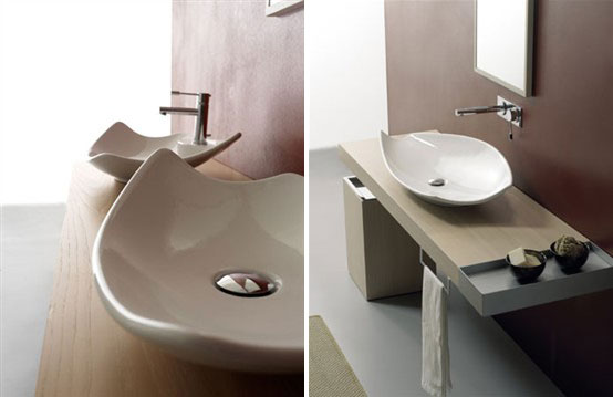 Elegant Colored Wash Basins Kong Scarabeo