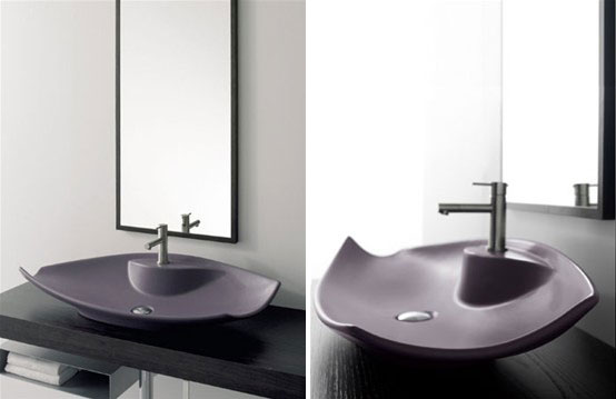 Elegant Colored Wash Basins – Kong by Scarabeo