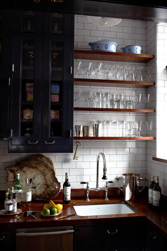 Elegant Dark Interior In The 20s Style