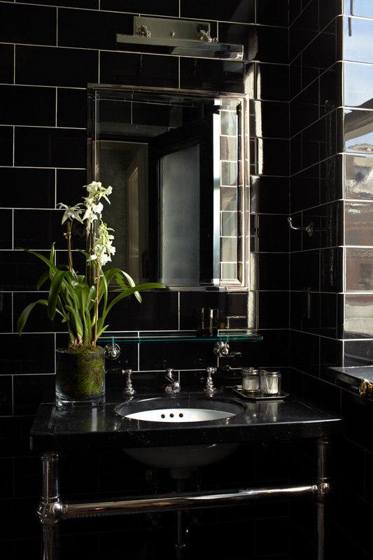 Elegant Dark Interior Design In The 20s Style DigsDigs
