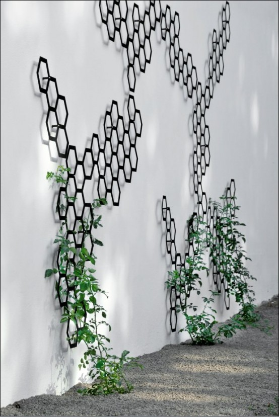 Elegant Decorative Trellis System Comb-Ination by Flora