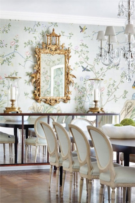30 Ways To Create A Trendy Industrial Dining Room: 44 Elegant Feminine Dining Room Design Ideas