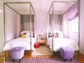 Elegant Feminine Kids Room For Two