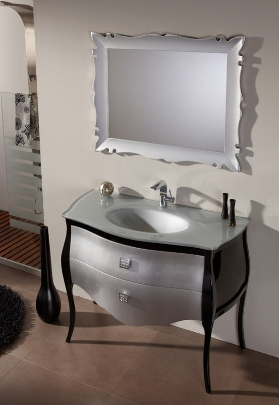 Elegant fresca range of bathroom basics digsdigs - Meuble salle de bain vintage ...