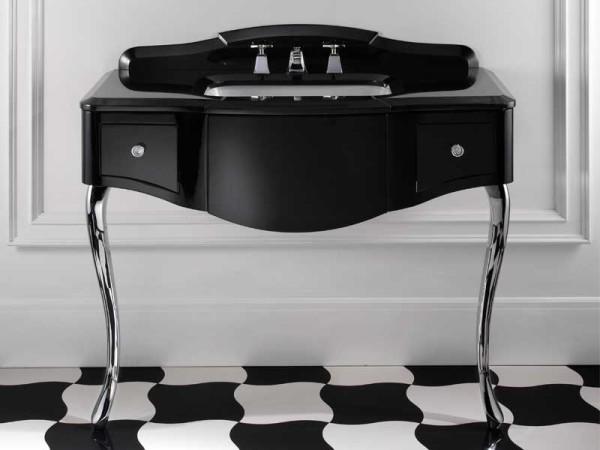 Elegant Furniture For Black And White Bathroom By Devon&Devon