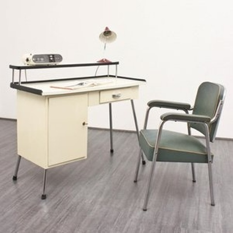 elegant mid century desk to get inspired - Mid Century Modern Home Office