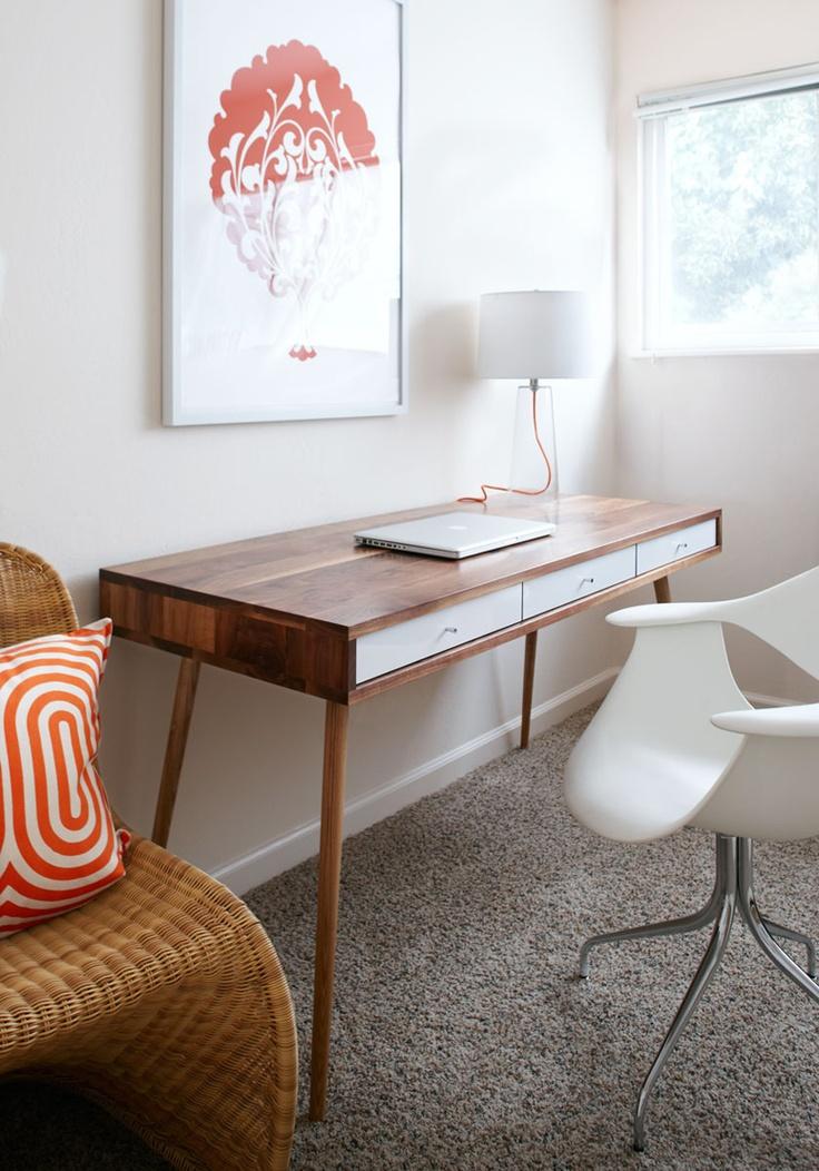 36 Elegant MidCentury Desks To