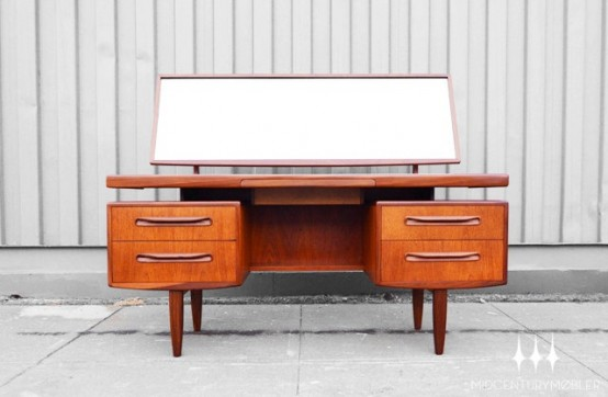 30 elegant mid-century dressing tables and vanities