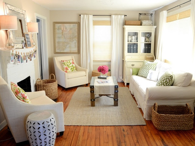 Picture Of Elegant Small Living Rooms Designs