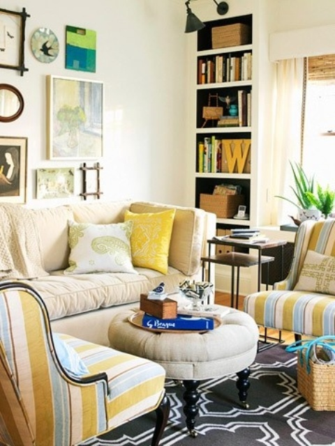 Interior Design For Living Room For Small Space: 26 Small Living Room Designs With Taste
