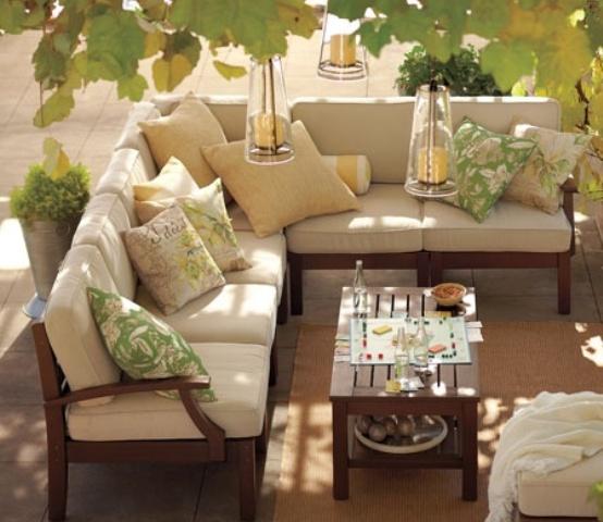 Elegant Terrace Designs In Neutral Shades