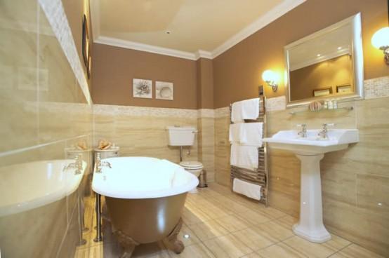 Elegant Yet Neutral Bathroom Design