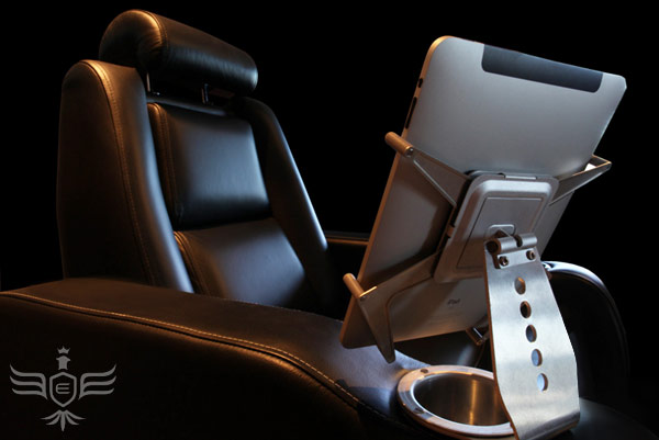 Ergonomic iPad Chair for Home Theaters