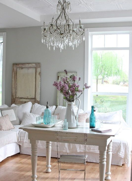 Beautiful Enchanted Shabby Chic Living Room Designs Design Ideas