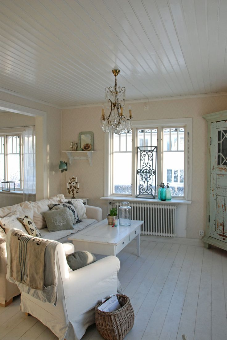 Picture Of Enchanted Shabby Chic Living Room Designs