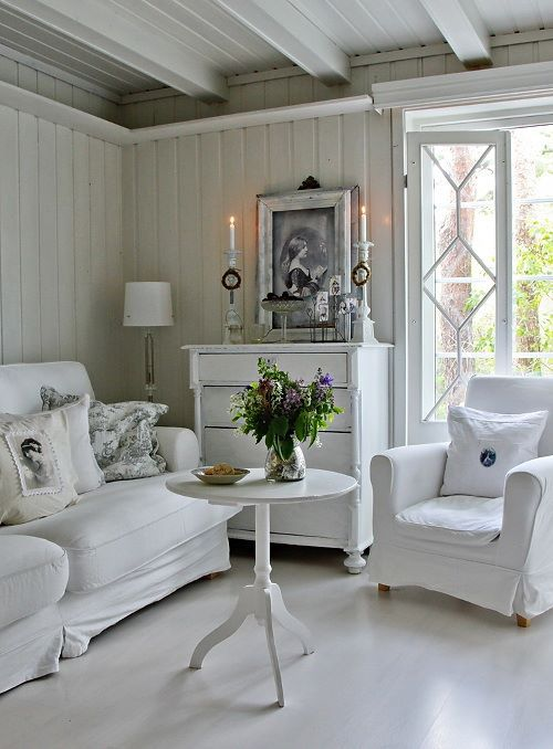 Enchanted Shabby Chic Living Room Designs Digsdigs