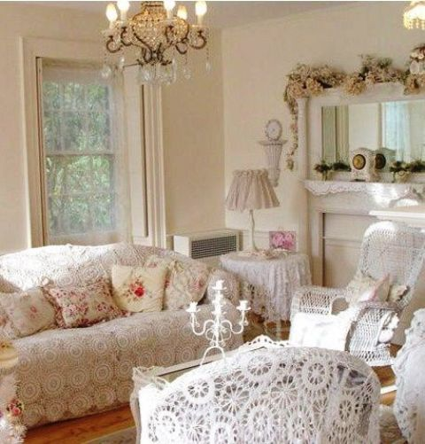 37 enchanted shabby chic living room designs digsdigs