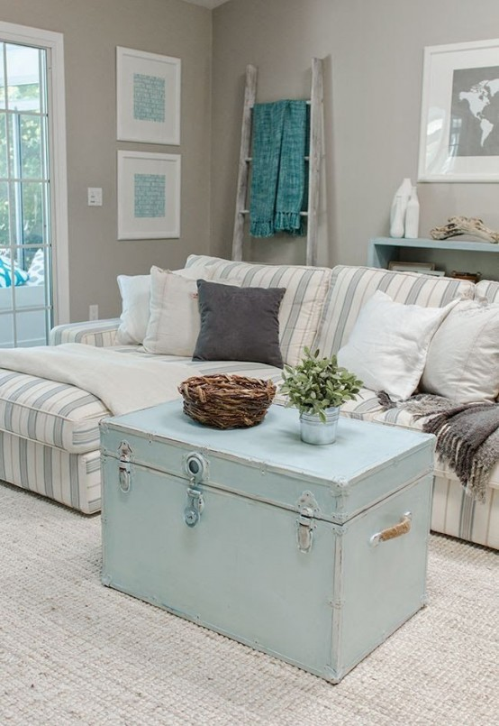 Enchanted Shabby Chic Living Room Designs
