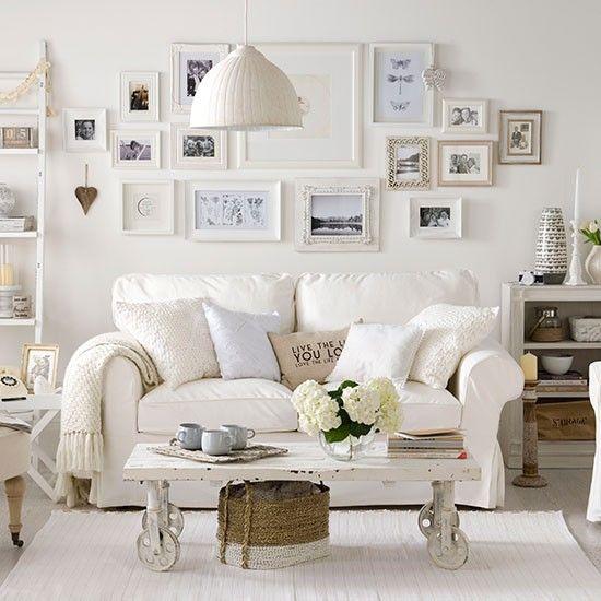 Enchanted Shabby Chic Living Room Designs