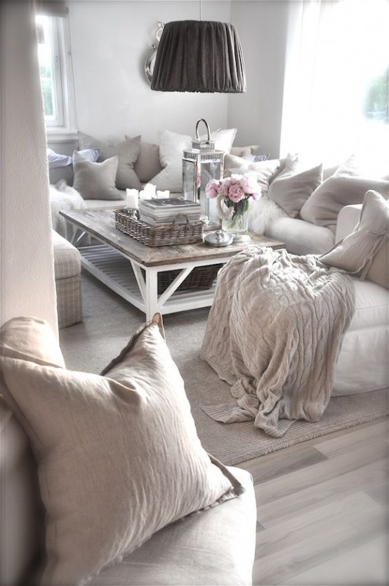 37 Enchanted Shabby Chic Living Room Designs Part 95