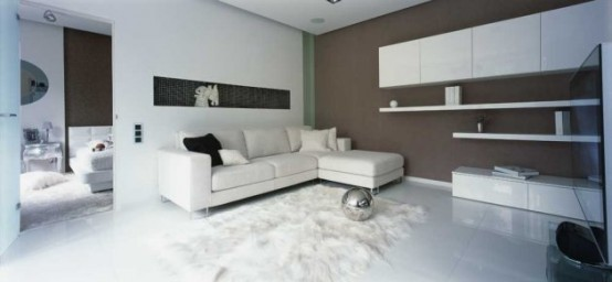 Contemporary Black & White Interior Design for a Girl