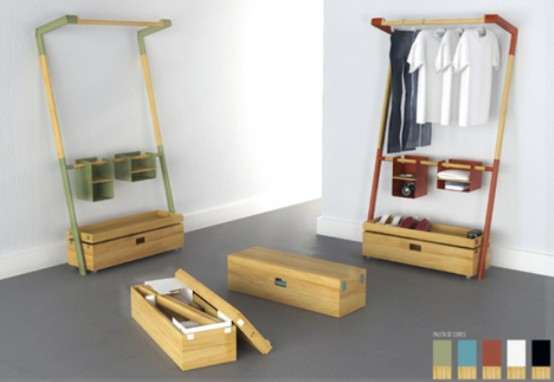 Ergonomic And Space Saving Gaming Table And Nomad Closet