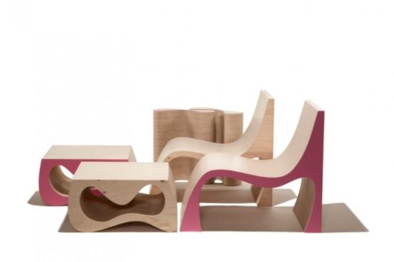 Ergonomic And Stylish Minimalist Furniture by Karim Rashid