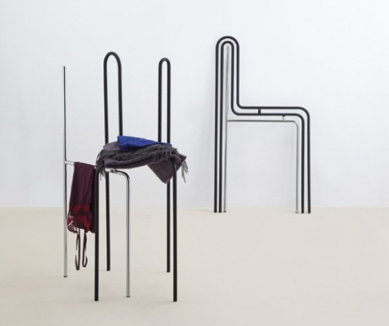 Minimalist Error Storage Chair For Your Clothes
