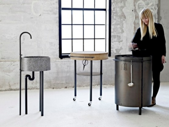 Essential Minimum For Cooking: Industrial AKitchen by Mette Schelde
