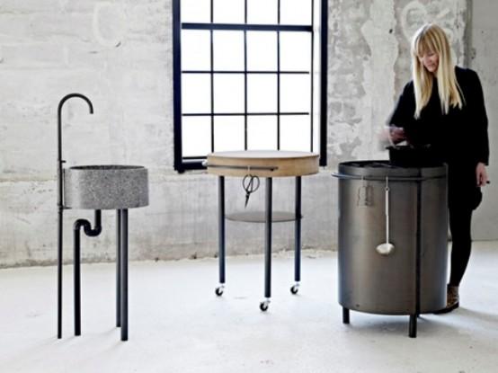 Essential Minimum For Cooking: Industrial AKitchen by Mette Schelde