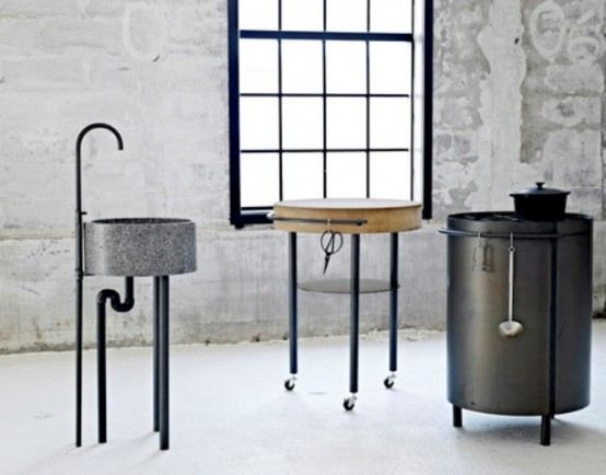 Essential Minimum For Cooking Industrial Akitchen By Mette Schelde