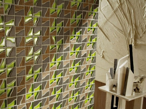 Exclusive Decorative Wall Tiles In Solid Wood